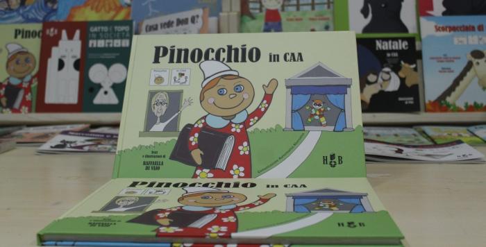 Pinocchio in CAA copertina