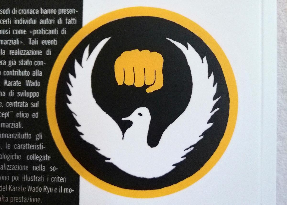 Il simbolo del karate wado ryy